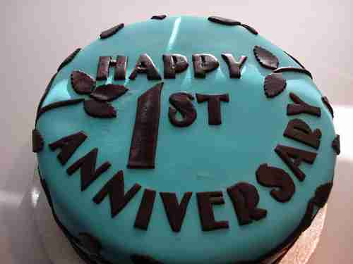 Cake Images For First Anniversary : Taking the First Step- Colognoisseur s 1st Anniversary ...