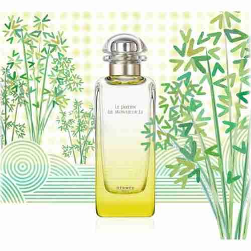 New perfume review hermes le jardin de monsieur li for Jardin hermes